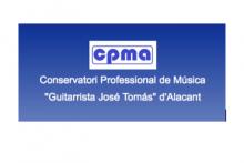 CONSERVATORI PROFESSIONAL DE MUSICA GUITARRISTA J.TOMAS