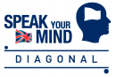 Speak Your Mind Diagonal