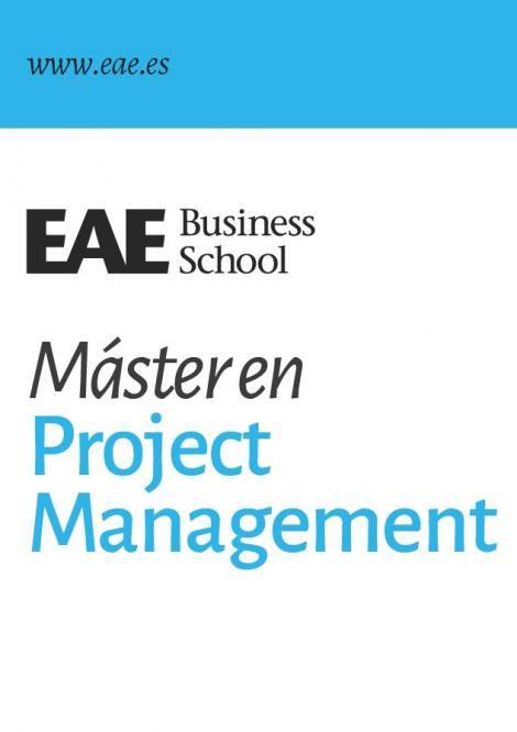 Preparación para la certificación del PMI, entre los valores destacados del Máster en Project Management de EAE