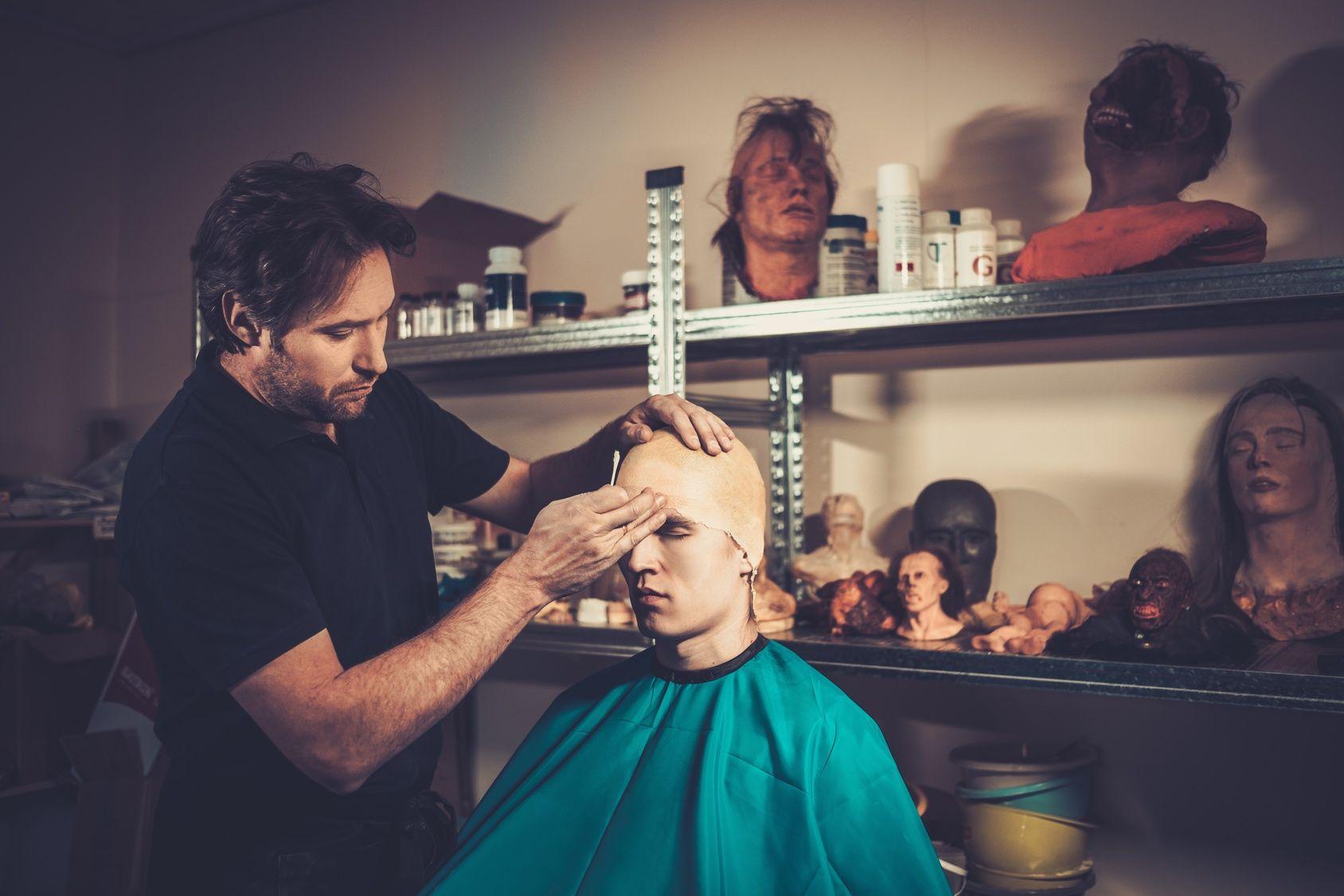 Descubre la profesión de maquillaje, caracterización y efectos especiales