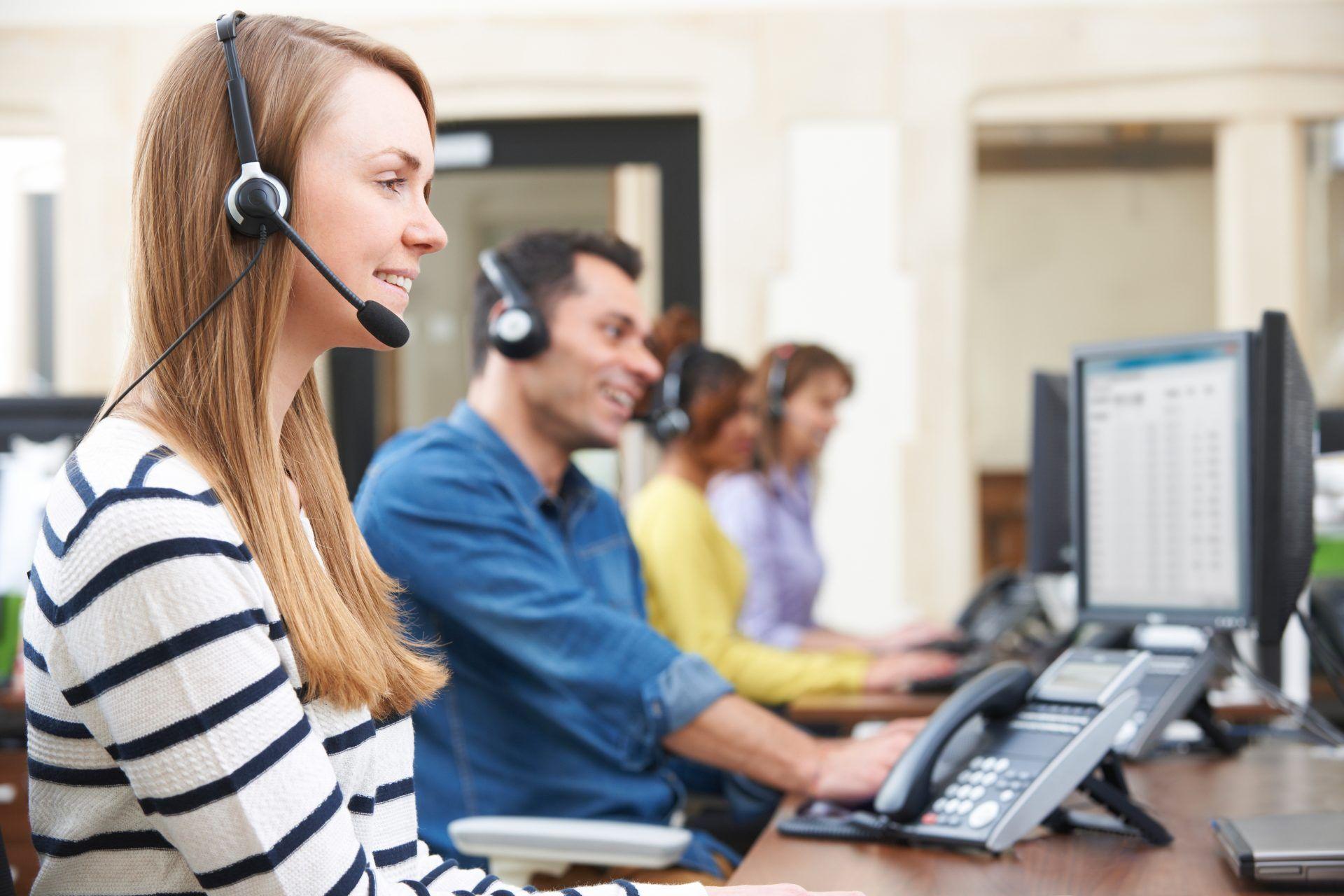 ¿Cómo trabajar en un call center?