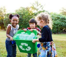 Niños medio ambiente