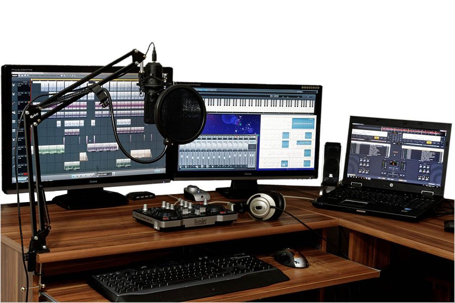 El trabajo de un productor musical