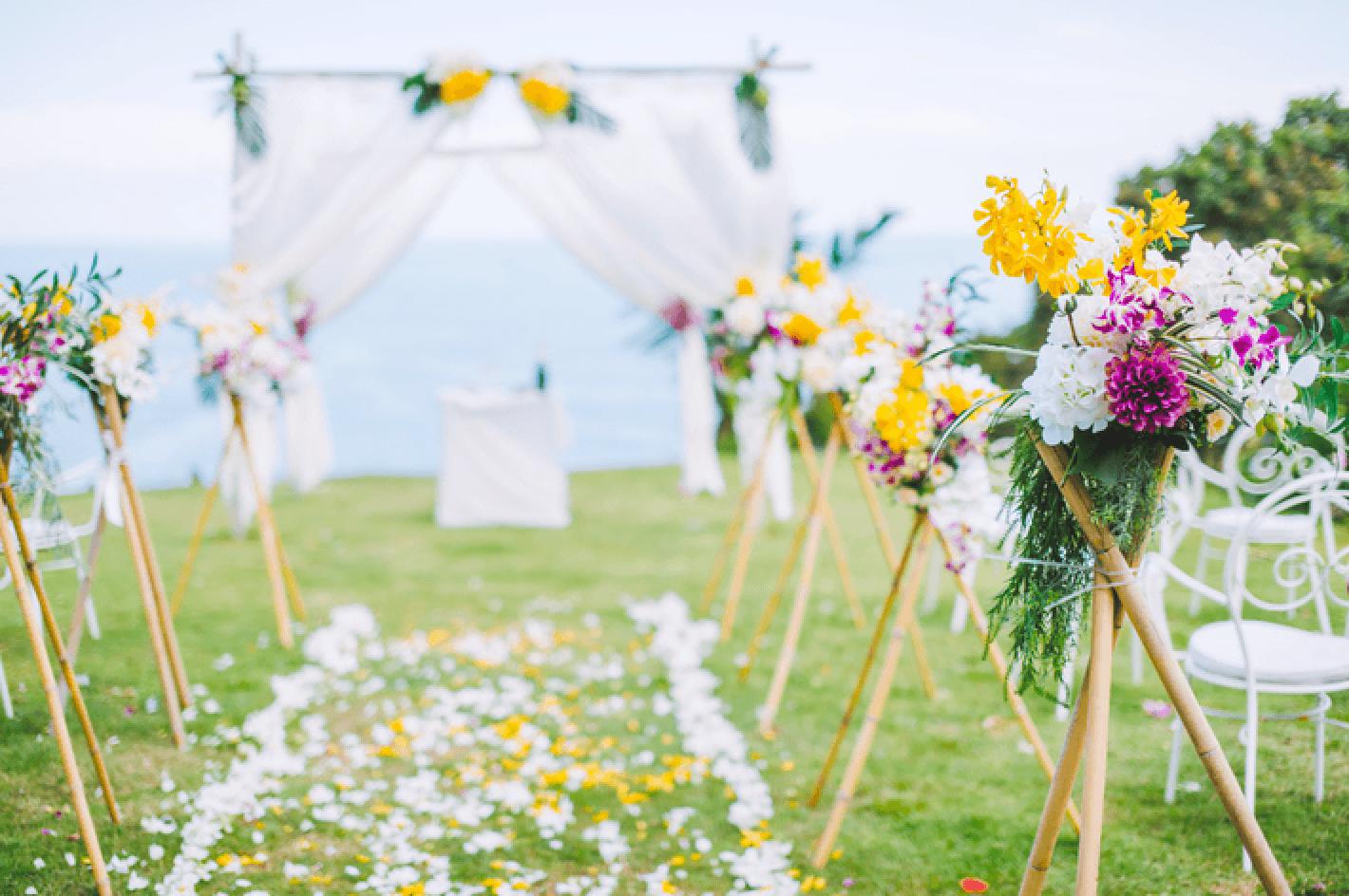Organizador de bodas: haz realidad la ceremonia de tus sueños