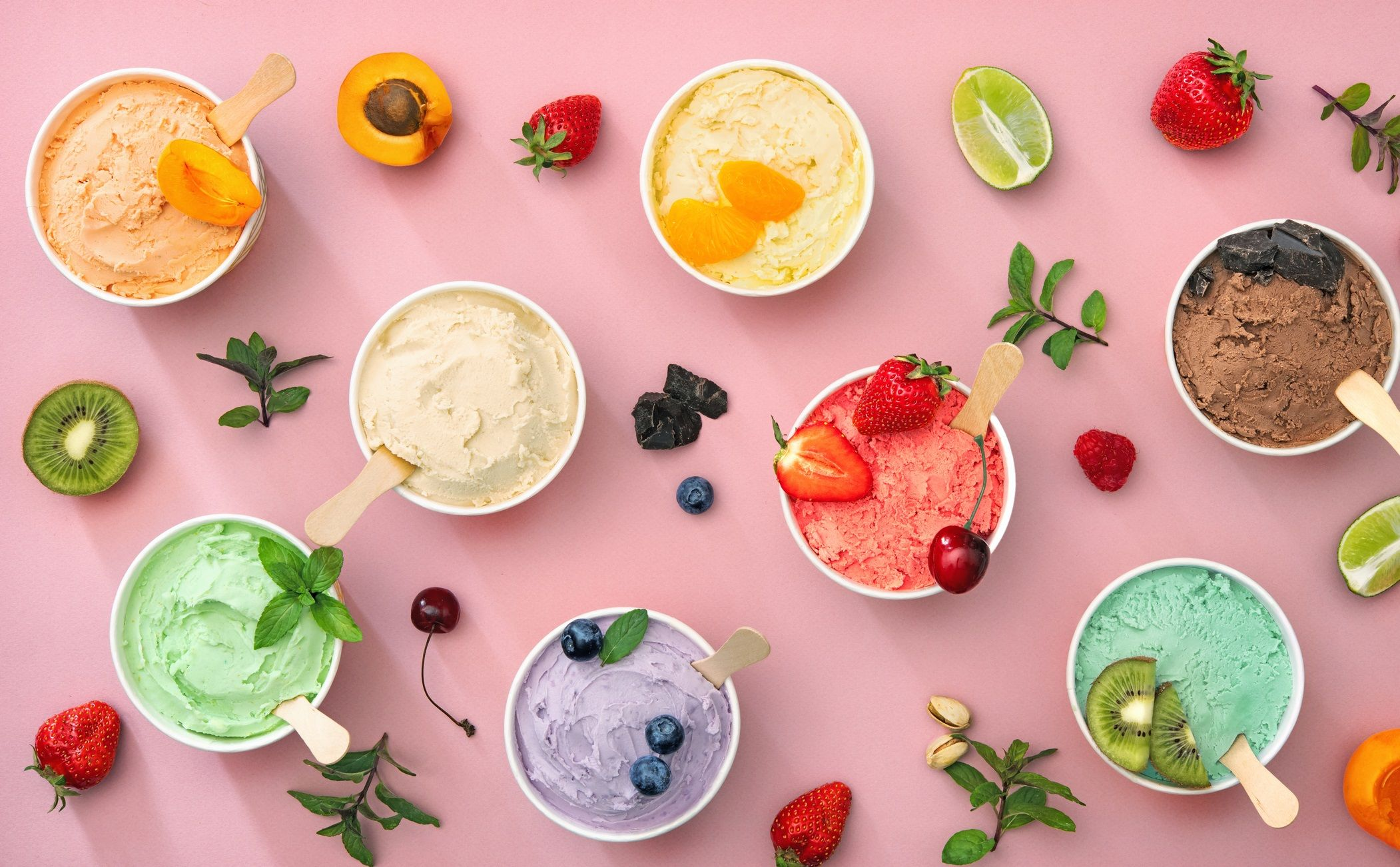 6 recetas de helado saludable para refrescarte este verano