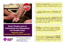 Curso Técnico para el Tratamiento del Tabaquismo con Terapia Láser- 60% de descuento