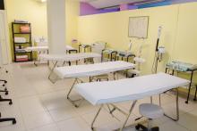 Taller estética Sala Tratamientos Faciales y Corporales