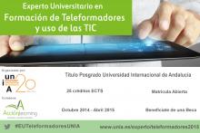 Experto Universitario en Formación de Teleformadores y uso de las TIC_Cartel