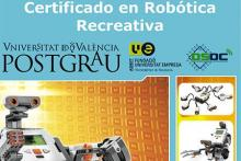 Cartel Promocional Robótica Recreativa Universidad de Valencia