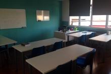 Una de nuestras aulas de Madrid.