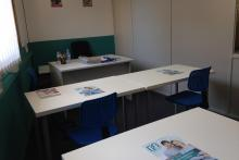 Una de nuestras aulas de tutorías de Barcelona