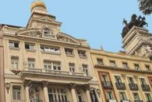 Fachada del Centro de Grafología Sandra Cerro, en el Palacio de los Recreos ¡¡en pleno centro de Madrid, junto a la Puerta del Sol!