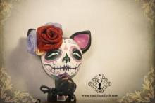 La CATrina, Ooak Art Doll, muñeca única