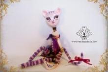 Cheshire, Ooak Art Doll, muñeca única