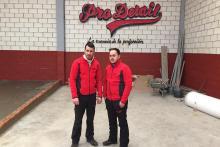 Alex y Alberto preparando su centro Pro Detail