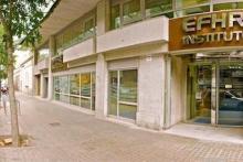 Sede de la EdECSI en calle Almogávares nº 8 de Barcelona (08018)