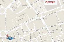 Mapa ubicación de la sede de Granda