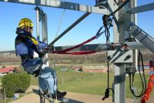 Torres Telco: trabajos en altura