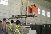 Trabajos en altura: plataformas elevadoras de personas