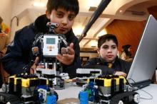 actividad extraescolar robotica