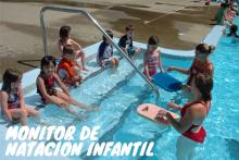Curso monitor de natación infantil
