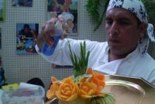 TALLADOS EN FRUTAS Y VERDURAS EDTOART EDWIN TOLEDO ALCEDO CHEF PERUANO WWW.EDTOART.ES