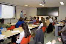 Aula para clases teóricas