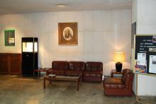Hall de la Fundación Gómez Pardo