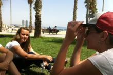 GBS Students at the Barceloneta Beach