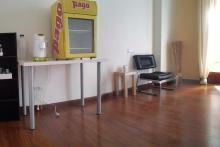 Sala de descanso escuela de masajes