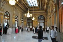 Acto de Clausura del Curso en el Palacio de Bolsa de Madrid
