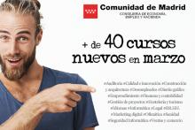 CURSOS PRESENCIALES GRATUITOS DE LA COMUNIDAD DE MADRID