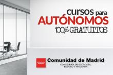 CURSOS GRATIS PARA AUTONOMOS DE LA COMUNIDAD DE MADRID