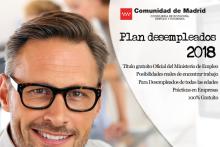 PLAN DESEMPLEADOS 2018 DE LA COMUNIDAD DE MADRID