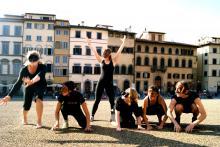 Curso de Teatro y Danza de la Commedia dell'Arte en Florencia, julio, 2011.