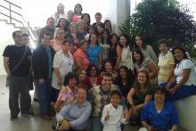 Dra. Mabel Barazarte (encuentro con algunos de sus alumnos)