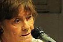 Profesora Cira Szklowin , Arquitecta y Planificadora Urbana