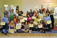 Entrega diplomas 8º Promoción