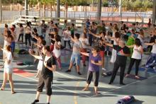 Practica Meditaciones Activas en Universidad Alicante