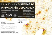 Cartel cursos GIS