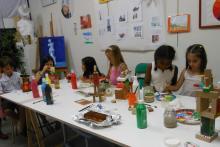 taller de dibujo, pintura y escultura