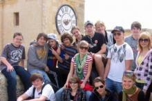 Alumnos en Malta, disfrutando del sol, el mar y el inglés.