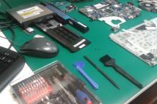 Herramientas del curso de reparación y manteminiento de ordenadores