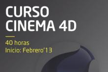 Curso de animación con Cinema 4D