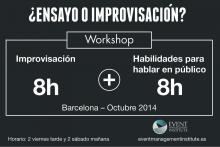 Improvisación y habilidades de hablar en público