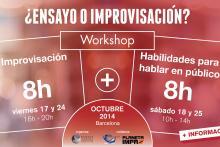 Improvisación y habilidades para hablar en público