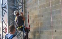 Curso de seguridad en trabajos verticales presencial - prácticas.