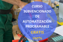 Curso Subvencionado 100% de Automatización Programable