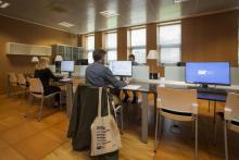 Biblioteca virtual. Campus A Coruña