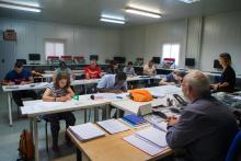 Alumnos en formación presencial